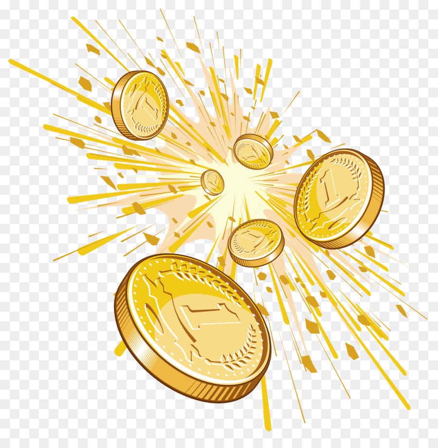 Картинка монеты на прозрачном фоне
