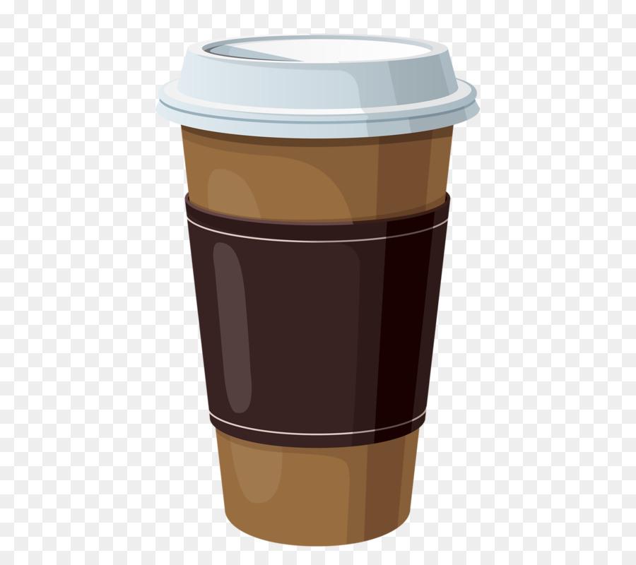 Рисунки кофе в стакане