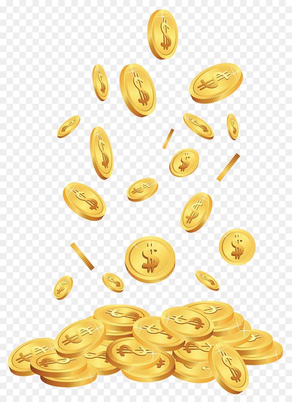 Картинка золотой блин для денег