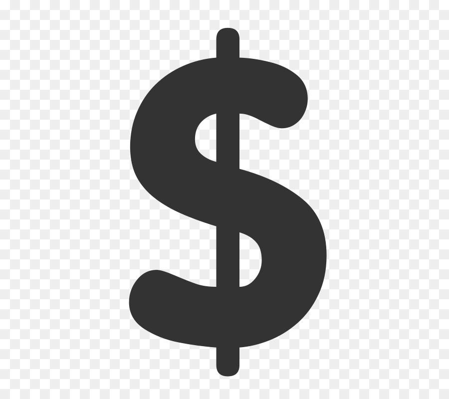 знак доллара картинка без фона