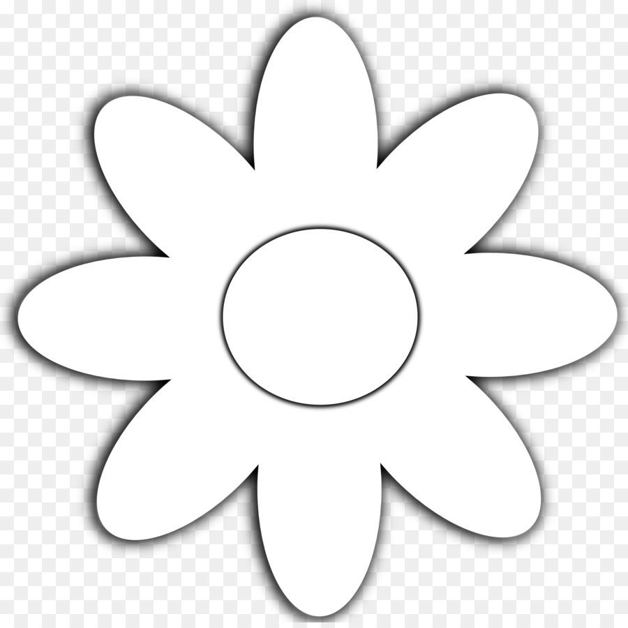 черно-белые картинки с ромашками для распечатки