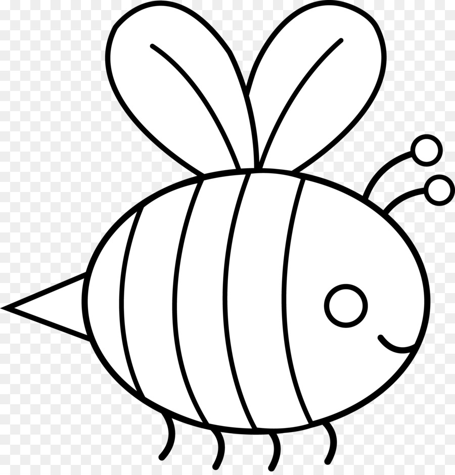 Черно белые картинки пчелок