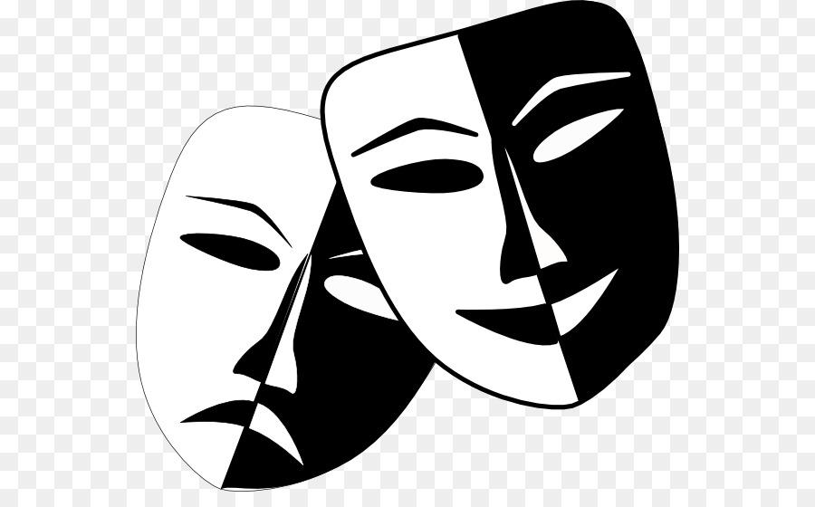 театральные маски черно белые картинки на прозрачном фоне известность получила еще