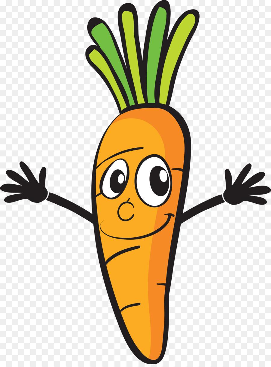 Картинка веселая морковь