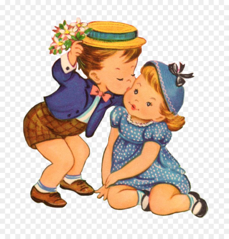 Картинки девочка целует мальчика в щеку рисунки