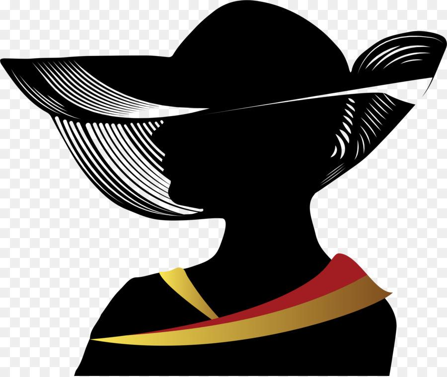 Силуэты шляпок картинки