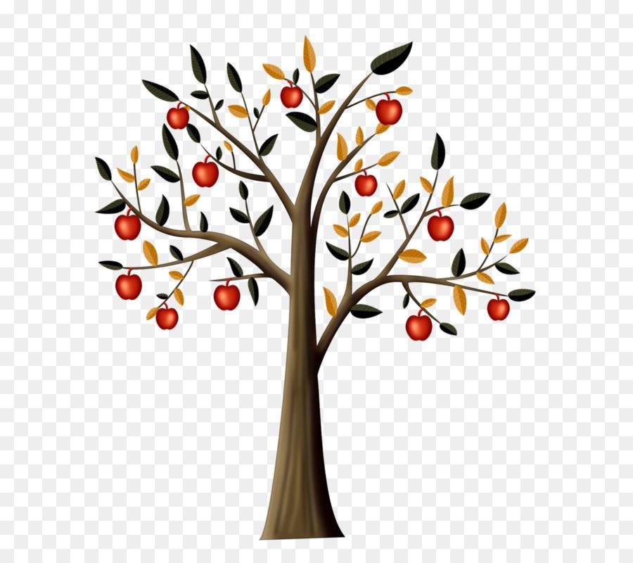 Картинка дерево с яблоками, визитки ремонт