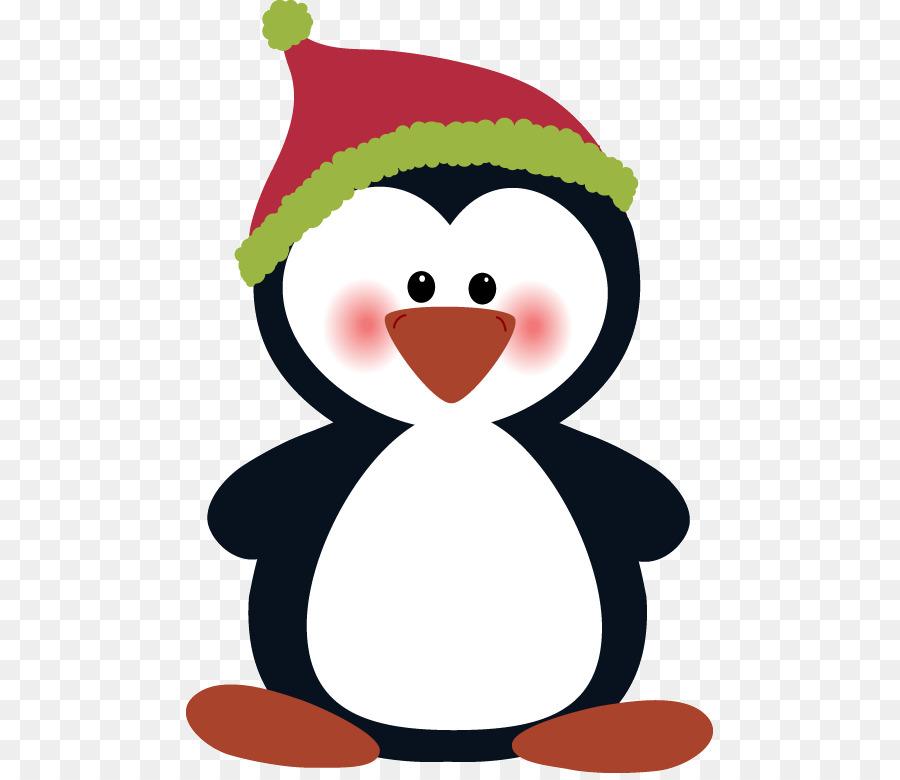 Пингвины картинки новогодние