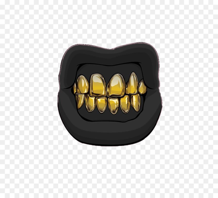 картинки золотого зуба