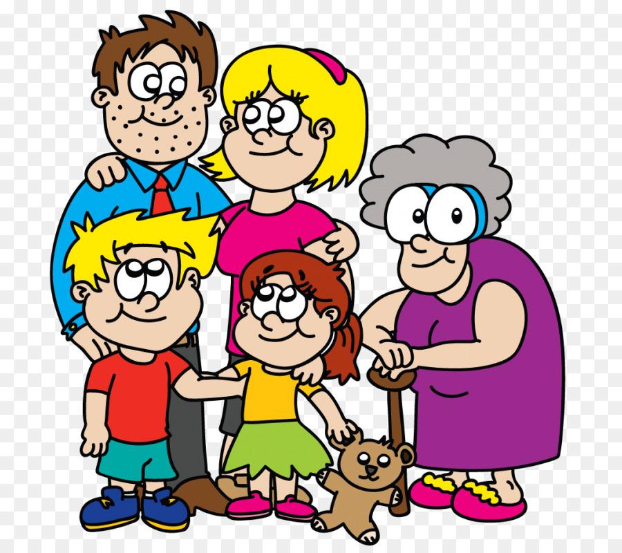 Мультяшная картинка родня