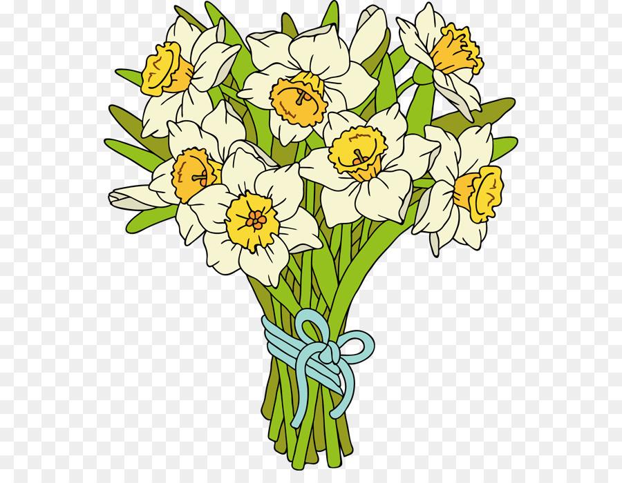Цветы букеты мультяшные картинки