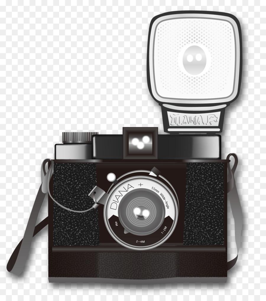 картинка фотоаппарата со вспышкой последнего атома цепочке