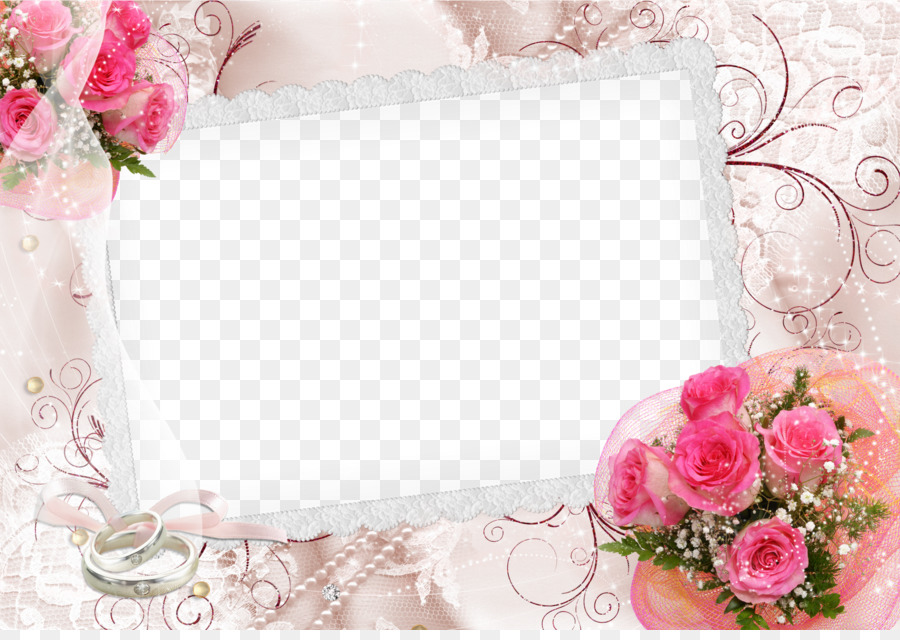 Рамки свадебные для открыток