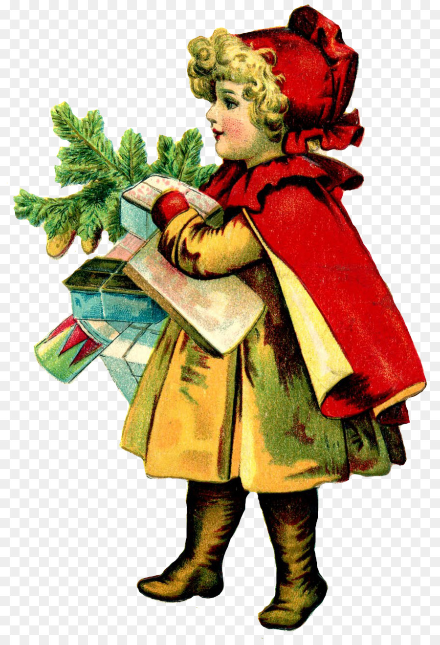 Ирландские открытки на рождество, мама
