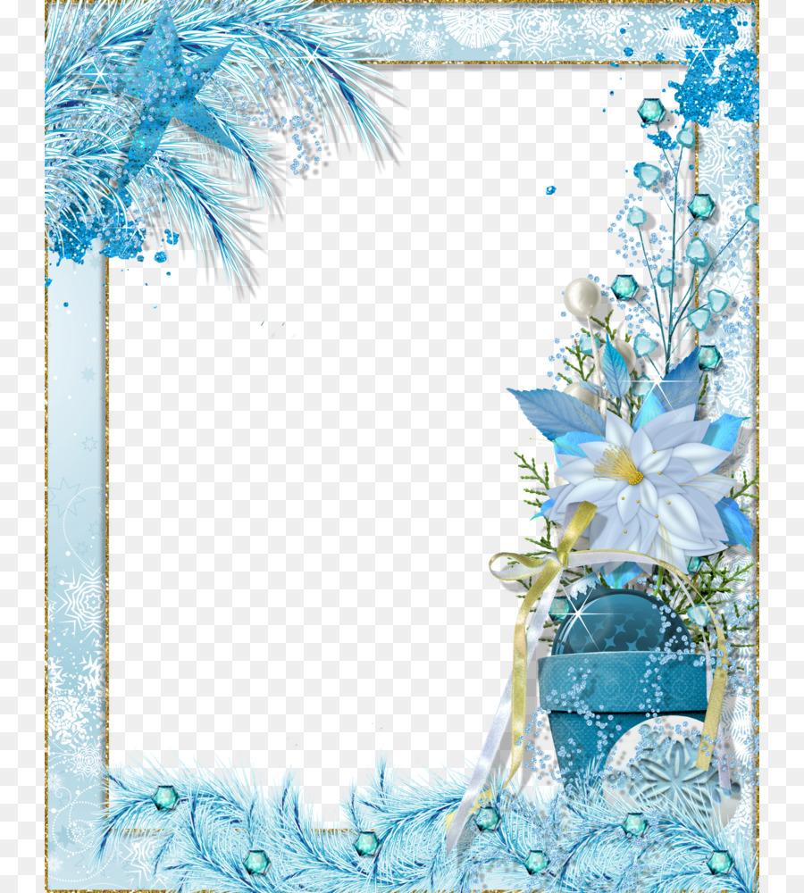 Рамки с зимней картинкой