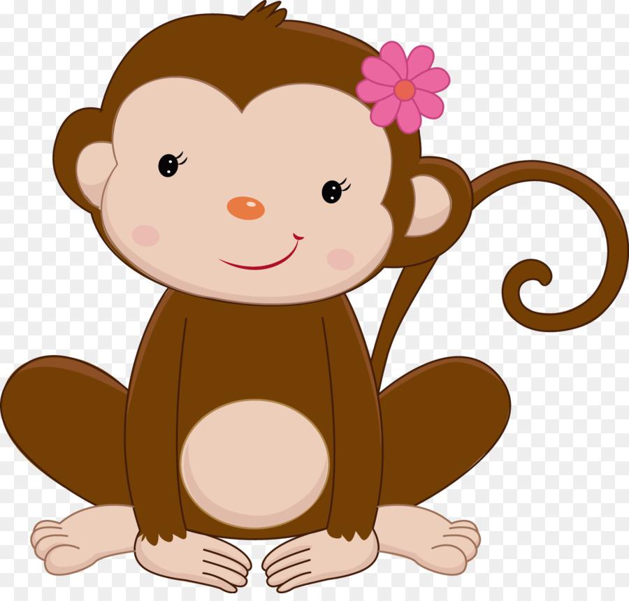 Рисунки с обезьянками