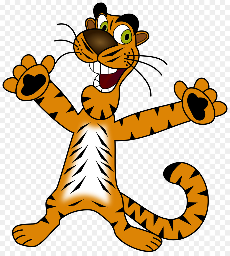 тигр картинка спортсмен