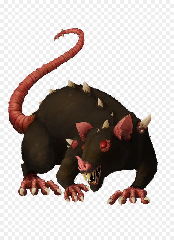 Крыса злая картинка