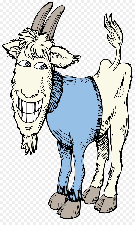Рисунок смешного козла