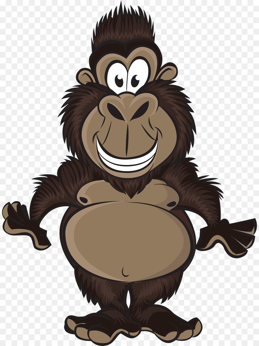 Рисунок обезьян прикольные, днем