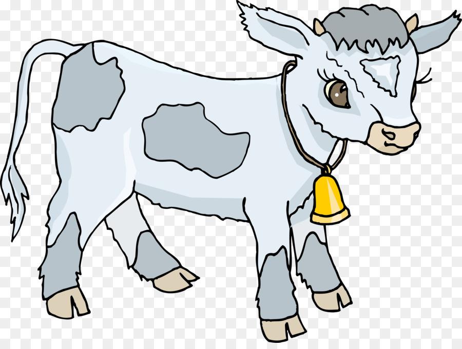Картинка бычка для детей на прозрачном фоне