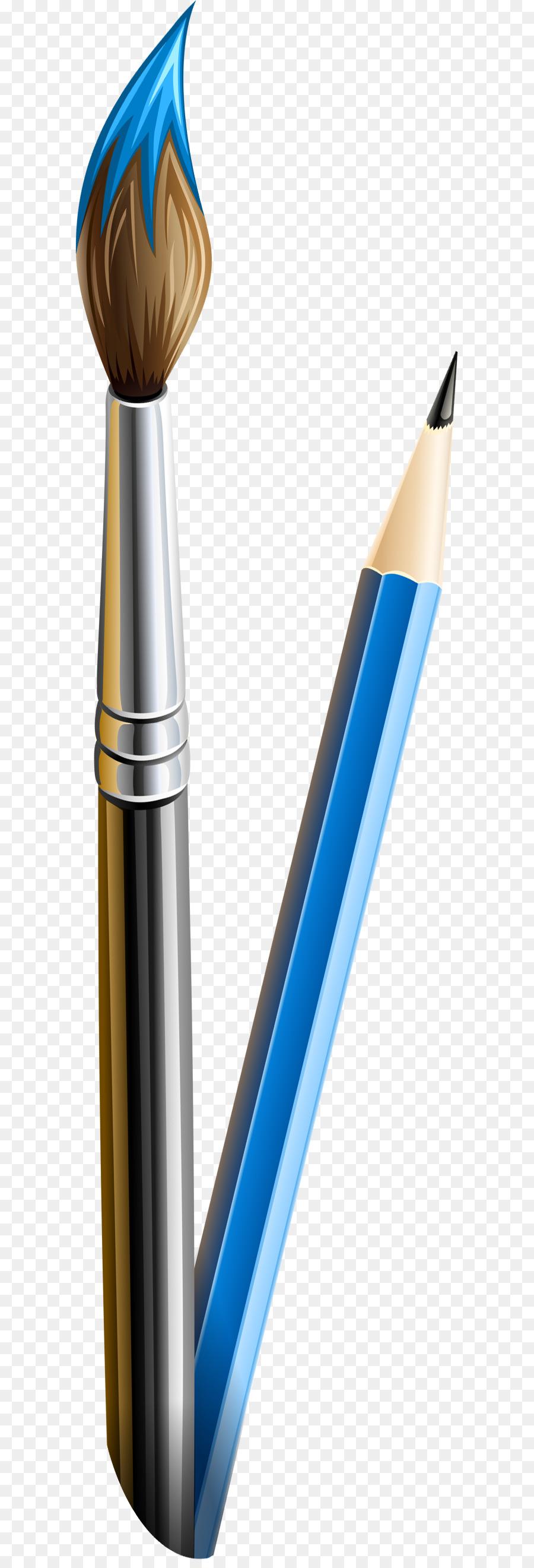Картинки карандаш кисточка
