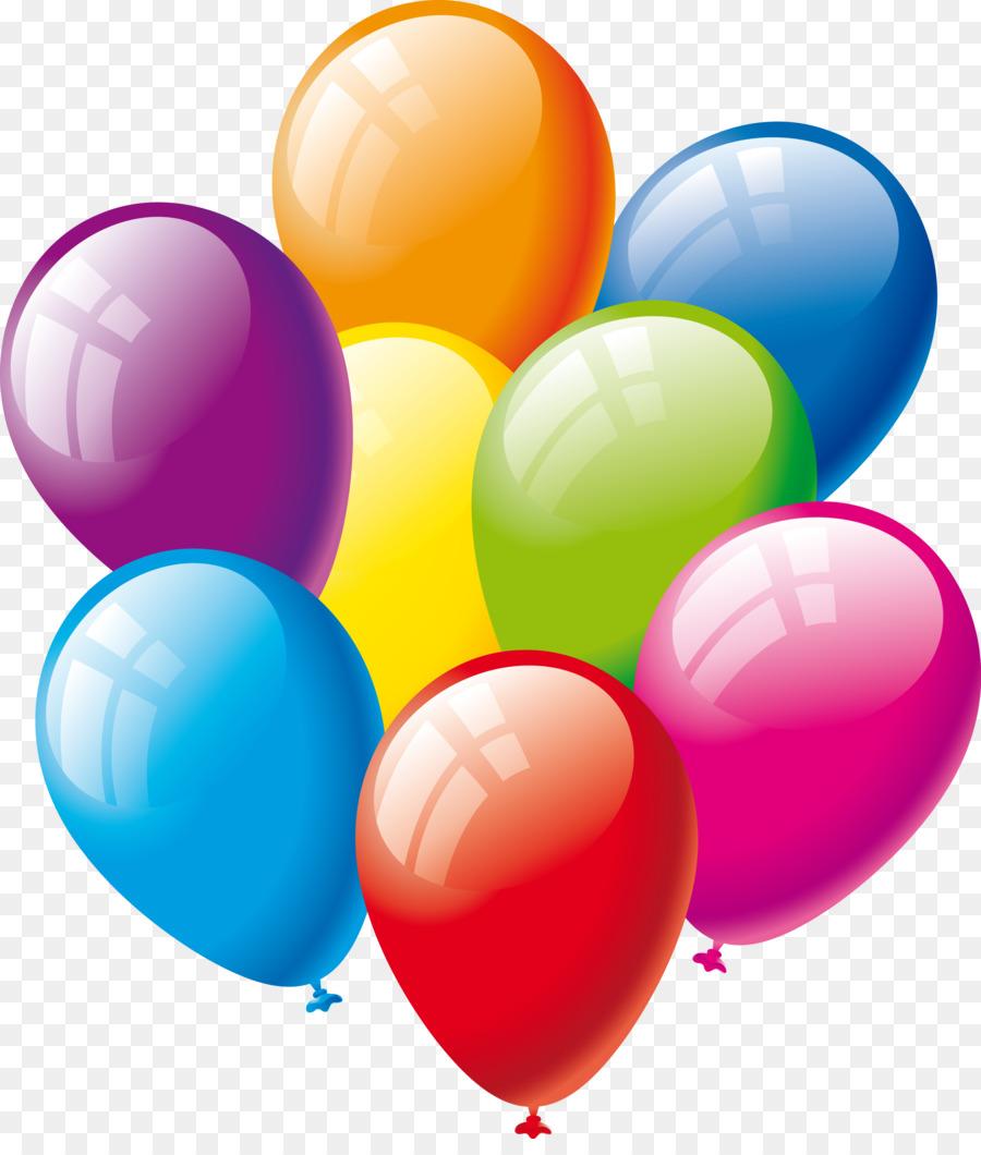 Днем рождения, воздушные шары картинки анимация