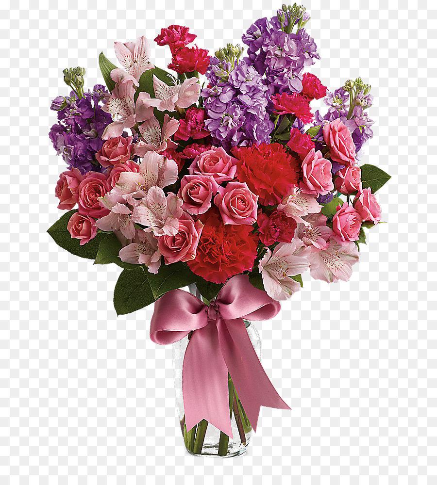 Букет красивых цветов картинки на прозрачном фоне