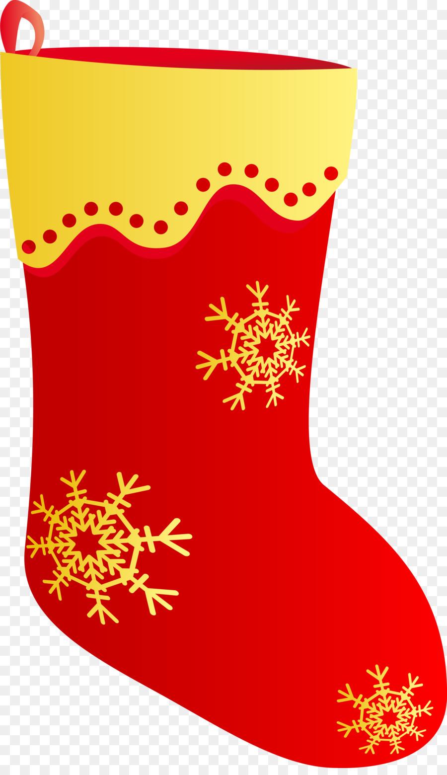 Картинка новогодний носок