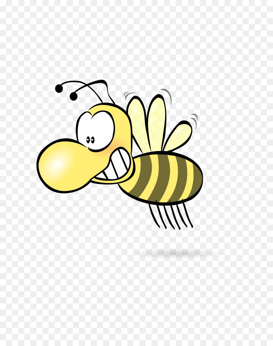 Картинка смешной пчелы