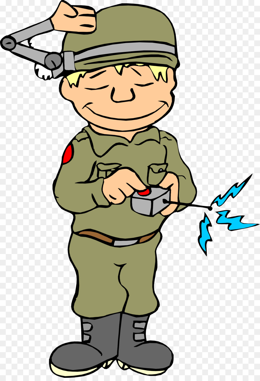Картинка смешной солдат