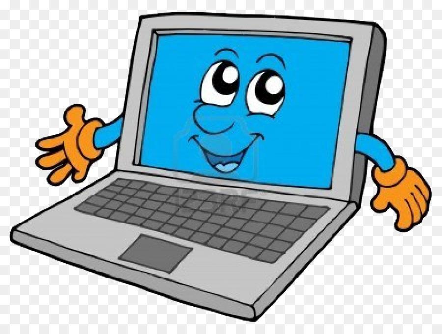 Картинки мультяшный ноутбук