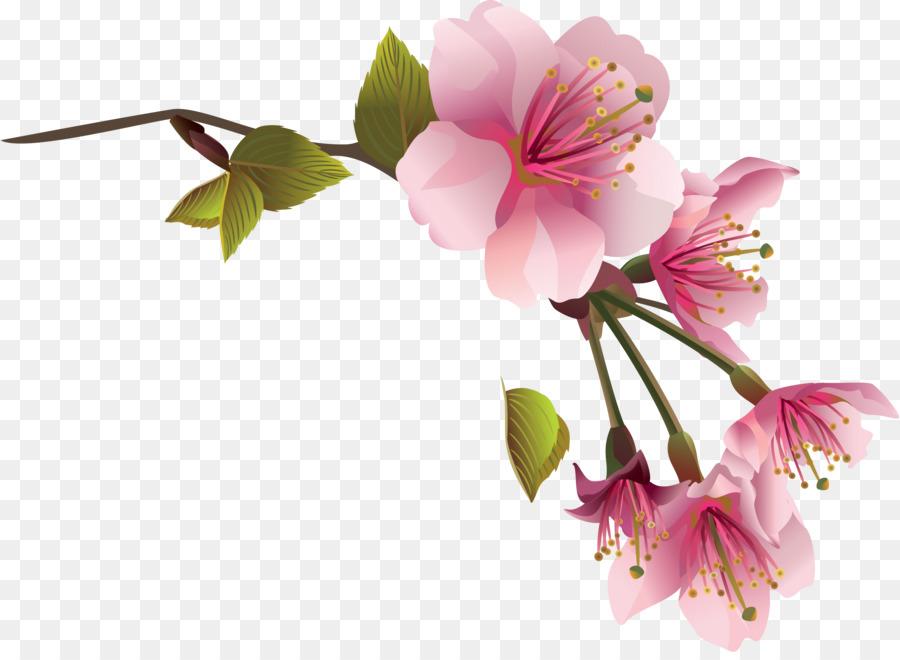 картинки веточек с цветами ней имеются
