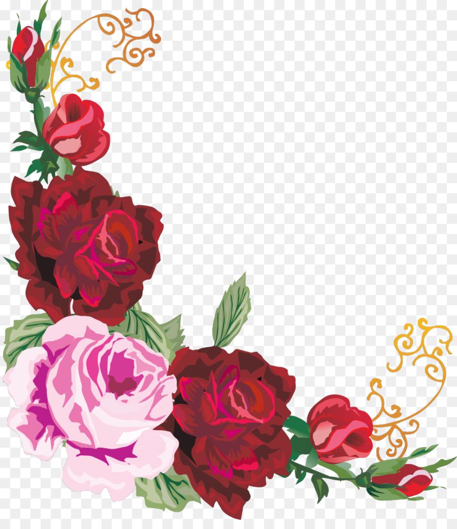 Оформление открыток цветами