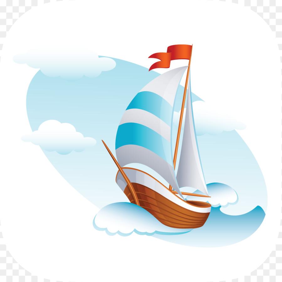 Картинка для детей корабль на волнах