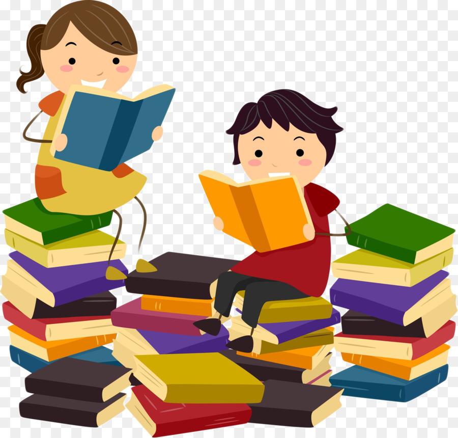 Картинка рисунок ребенок с книгой