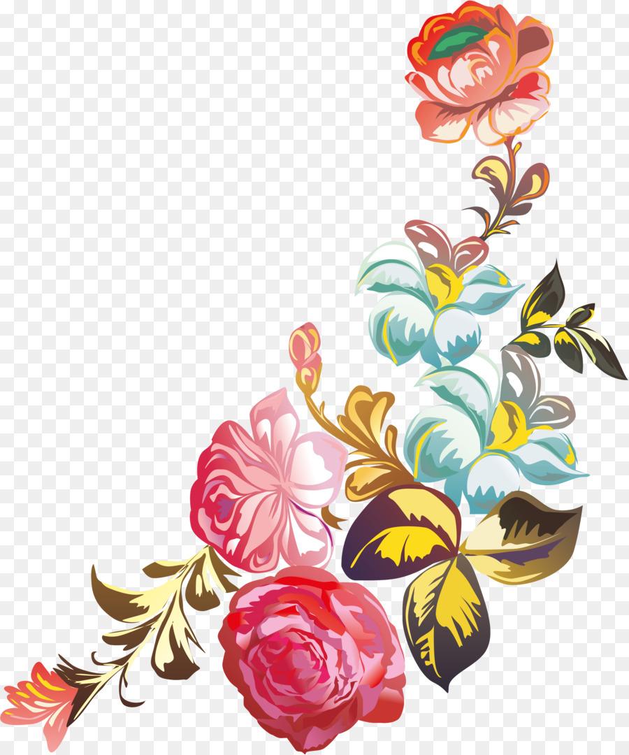 Картинки с орнаментом цветов