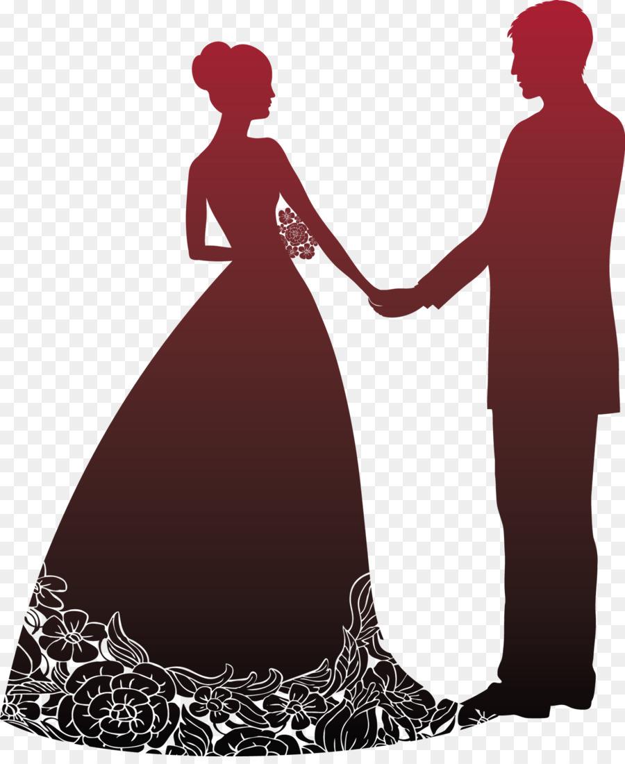 Открытка невеста и жених