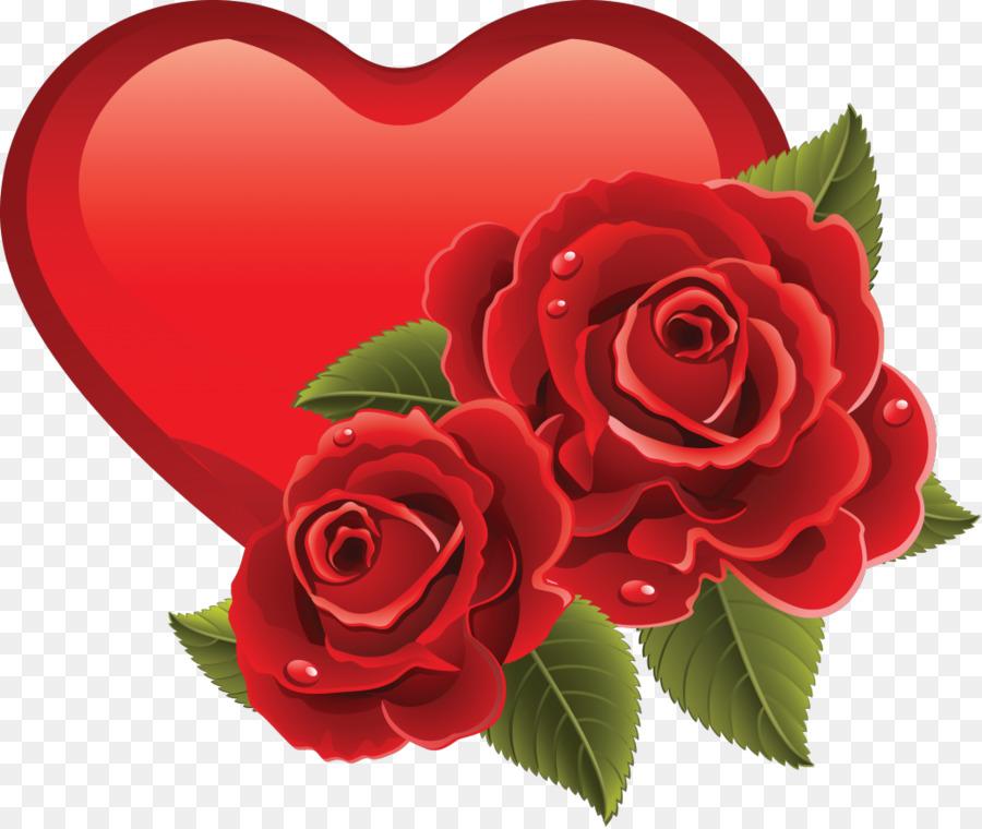 Открытка цветочки сердечки