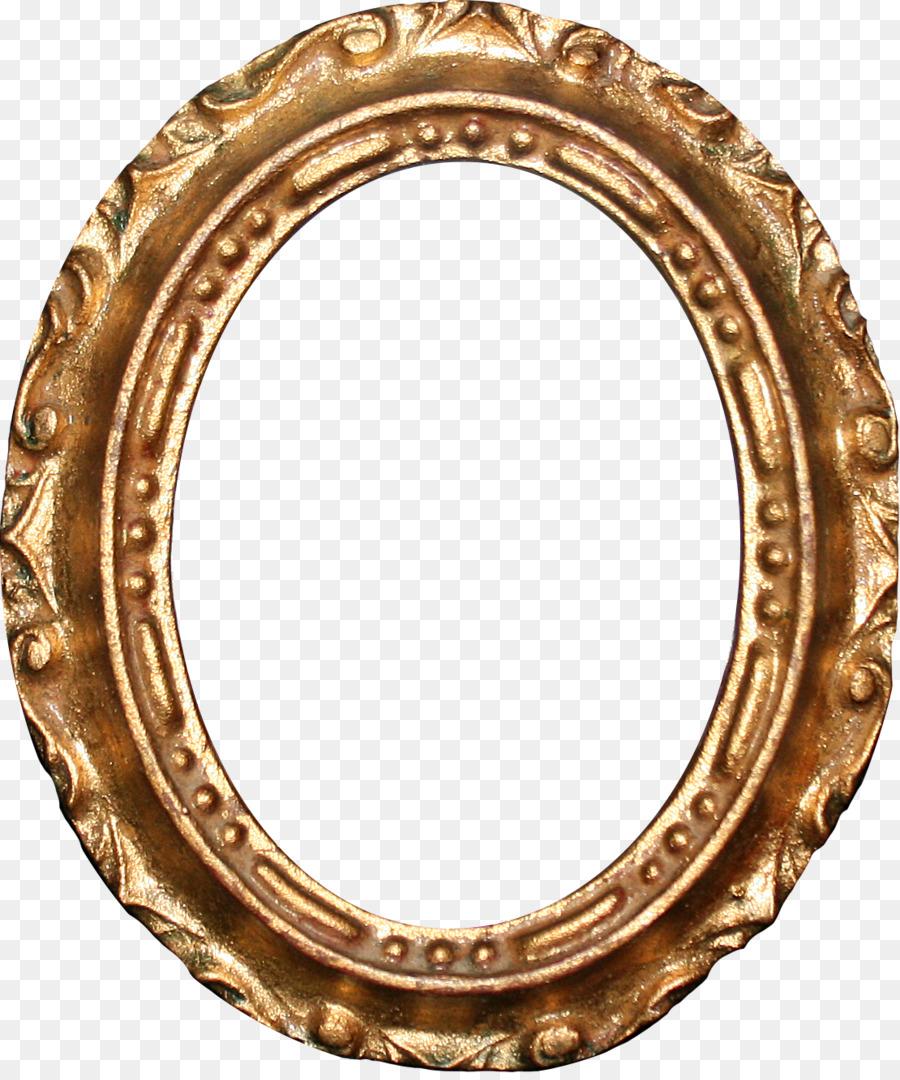 Рамка картинки овальная