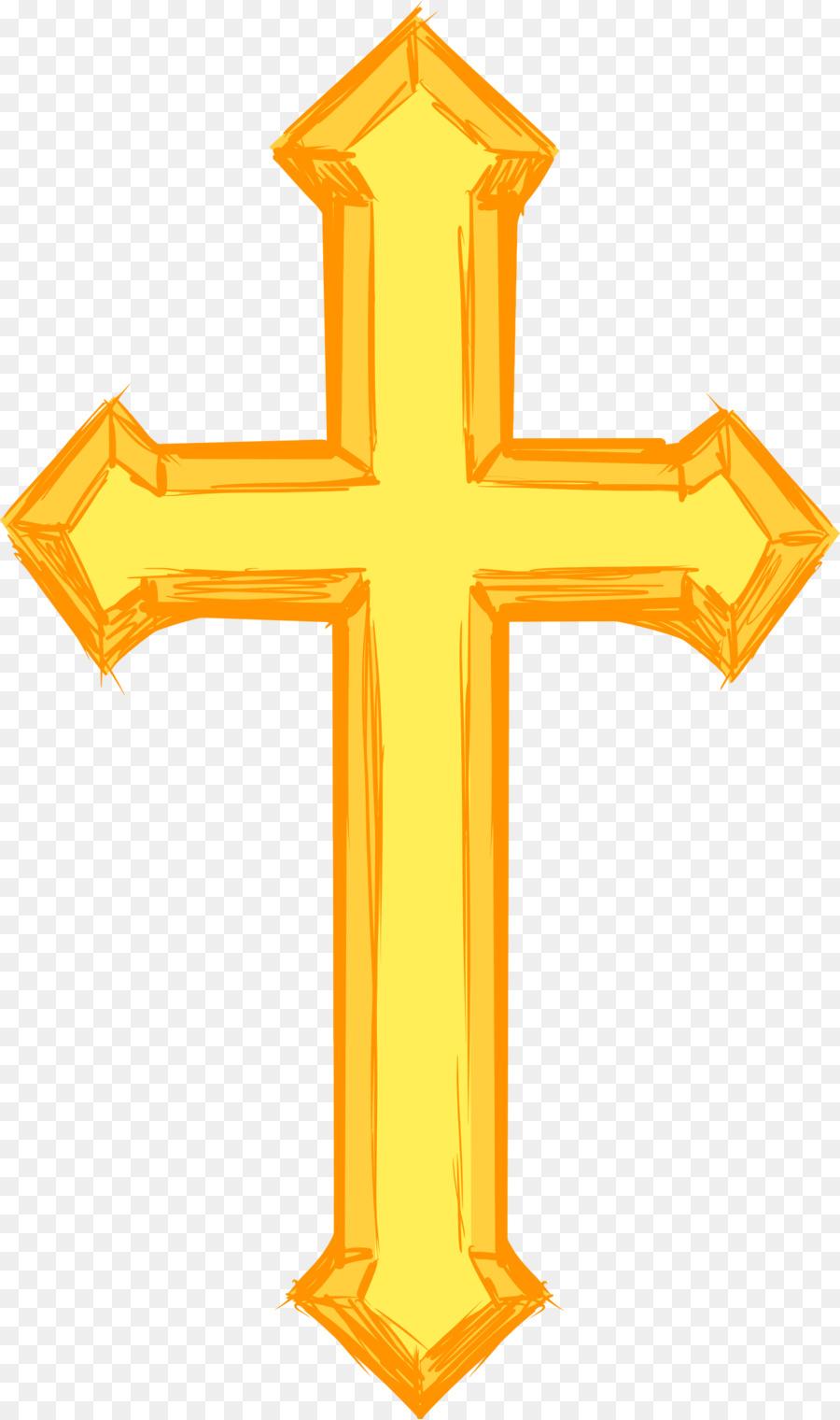 Желтый крест картинка