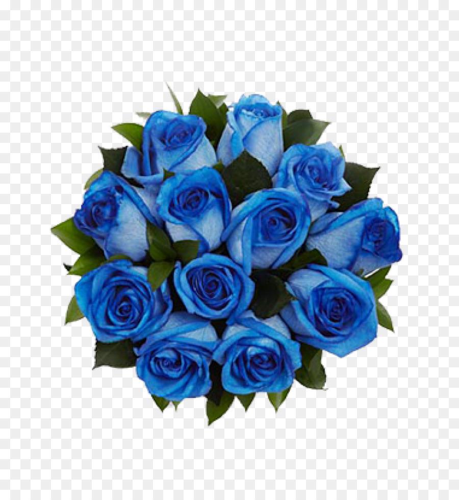 Синий букет от всей души