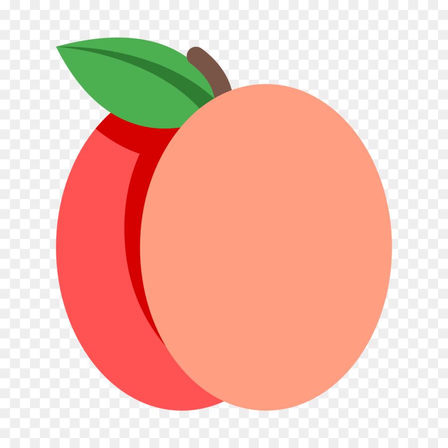 персик рисунок без фона