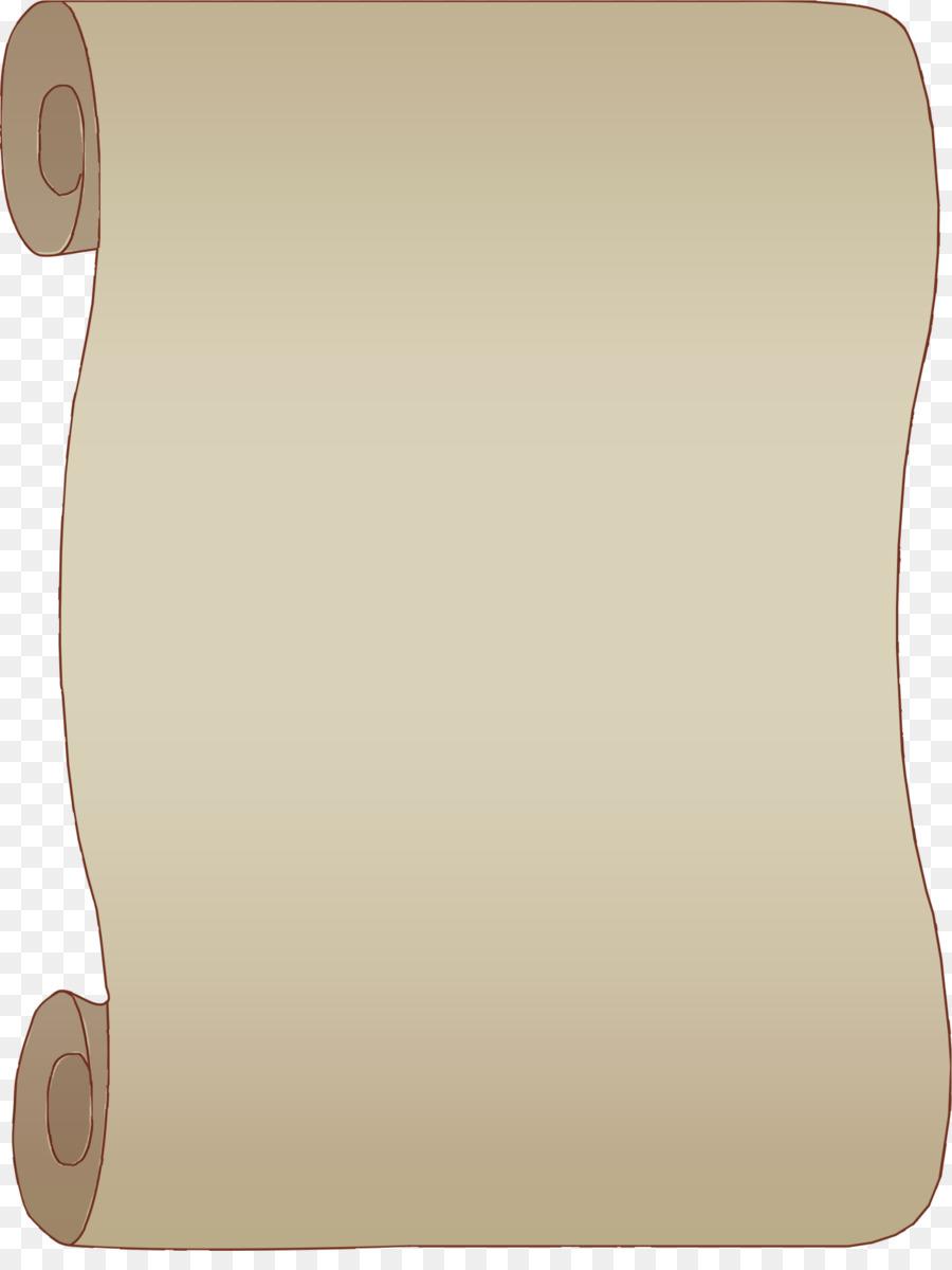 Рисунок свиток бумаги для оформления