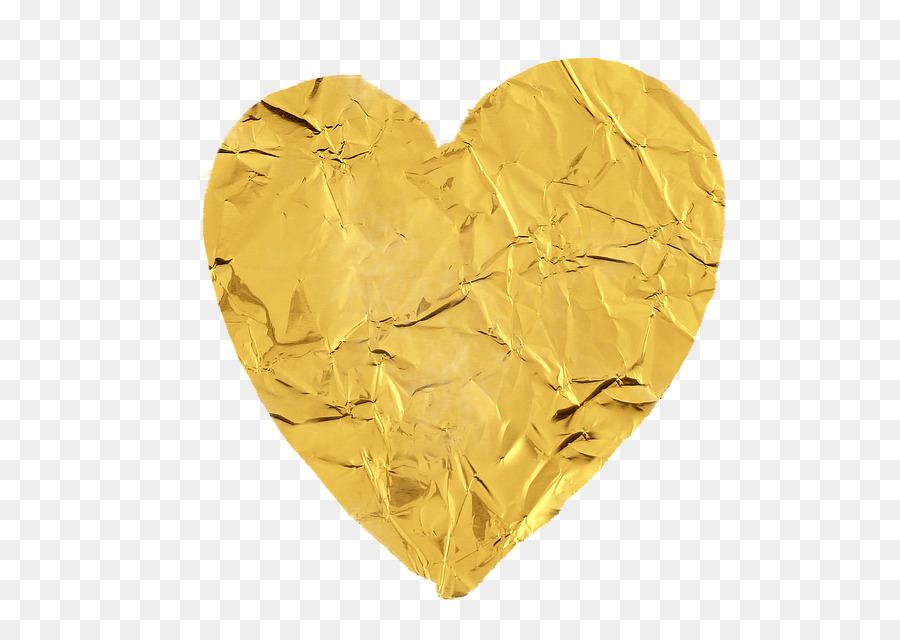 Фото золотого сердца