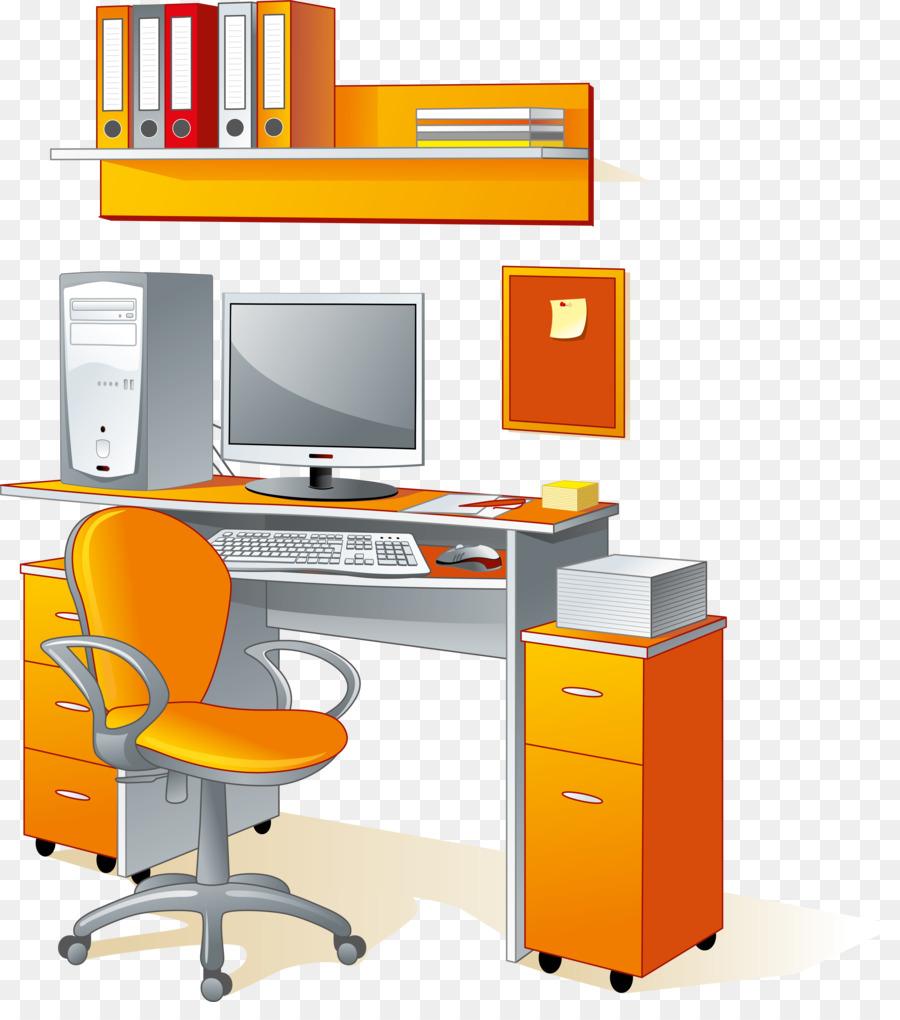 Нарисованные картинки компьютерного стола
