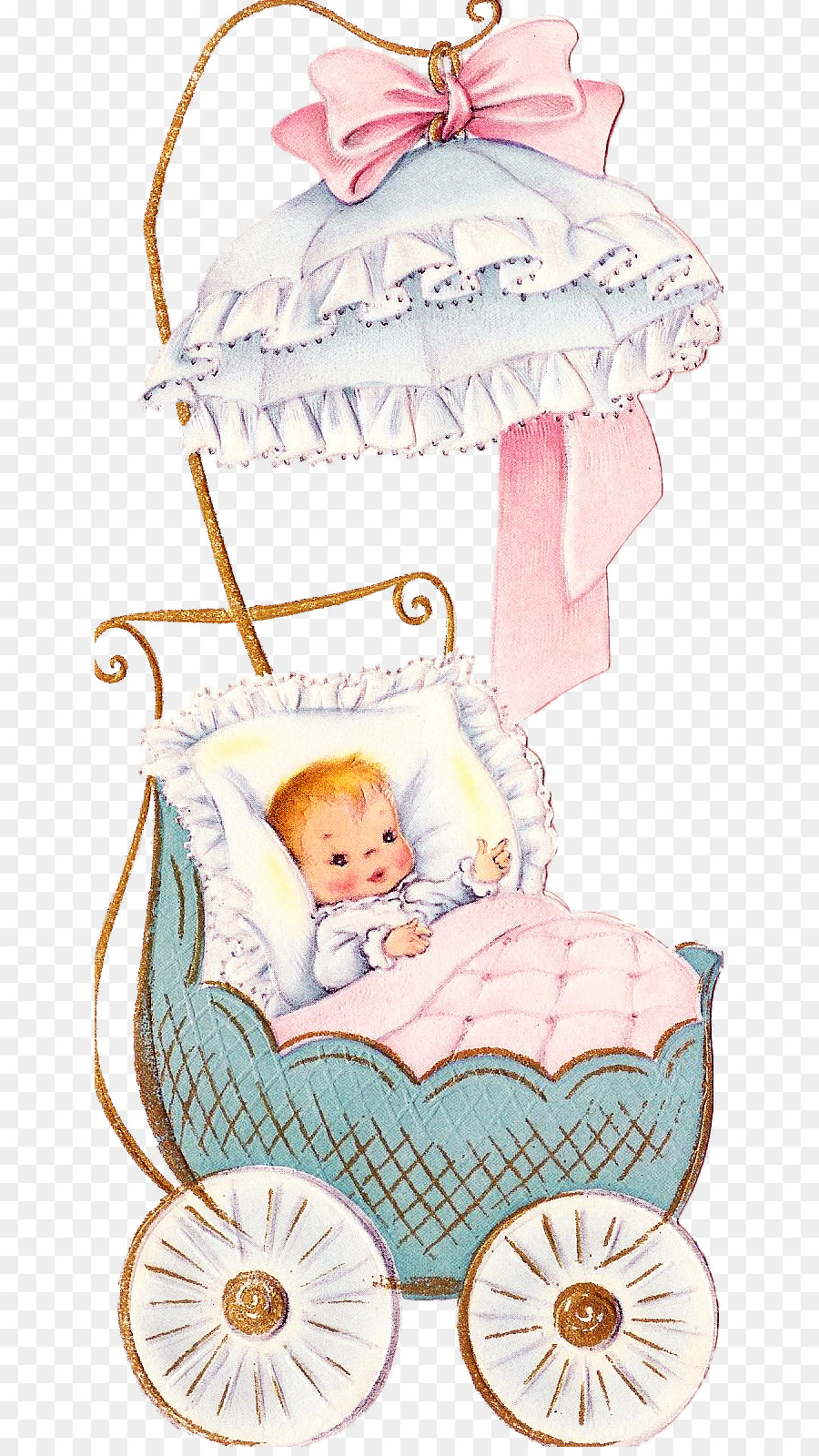 Тему, открытка с младенцем