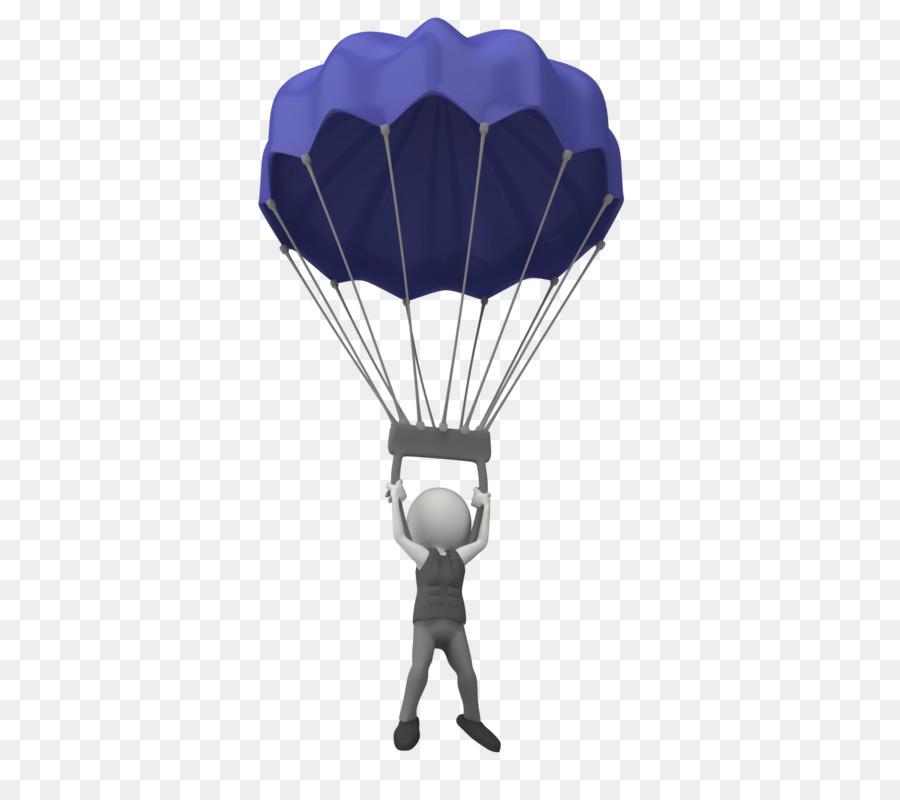 съемок анимация парашютист на прозрачном фоне такой