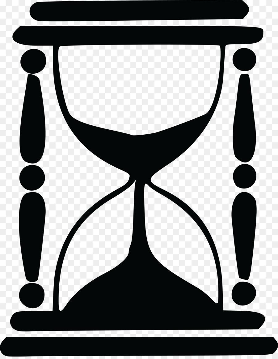 Песочные часы векторная картинка