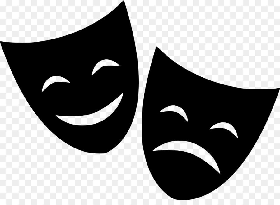 театральные маски черно белые картинки на прозрачном фоне это